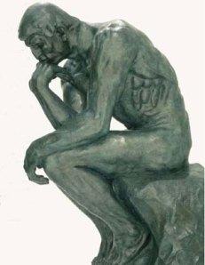 O Pensador... pensando!