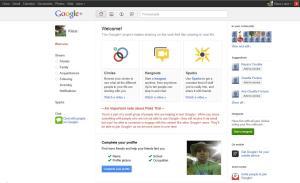 Welcome Google +